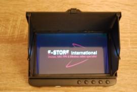 5-inch V2 HiRes 1,2Ghz or 5.8Ghz Portable Wireless Mini DVR