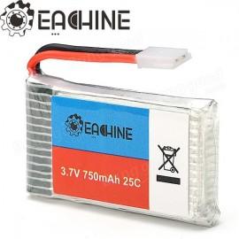 Eachine 3.7V 750mah 25C Lipo Battery for Eachine QX95 QX90 QX80 E30 E30W Syma X5 X5C X5SC X5SW CX30W