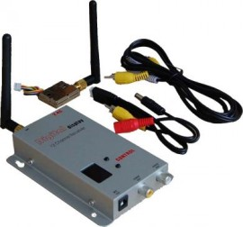 FOX 12ch 2.4Ghz receiver & 8ch 200mW Transmitter for FPV