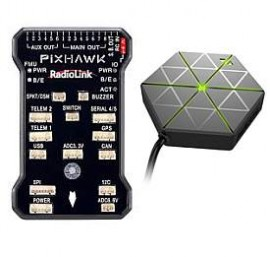 Pixhawk Flight Controller With M8N GPS, Buzzer Combo