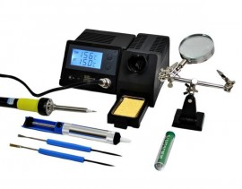 Adjustable Digital Soldering Station 48W Esd With Accessories