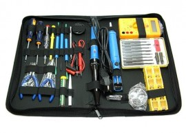 Soldering Precision Electronic Tool Set Multimeter 18 parts