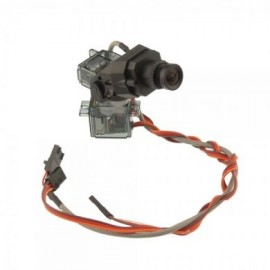 Fatshark 600 line Pilots Cam Camera including pan/tilt and servos