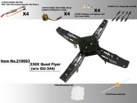 Gaui 330X 210003 Quad Flyer (w/o GU-344)