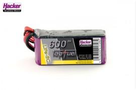 LiFe-EC 600mAh 3S TopFuel