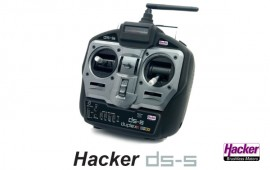 Hacker handtransmitter 5CH