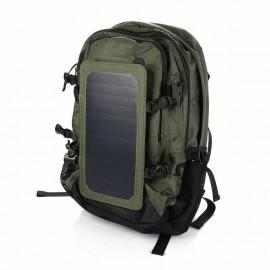 backpack with 6.5Watt solarpanel (for radios/racekopters)