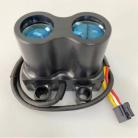 MFD Laser Range Finder for crosshair AP