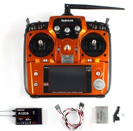Radiolink AT10 II RC Transmitter 2.4G 10CH + R12DS RX + ATM-01