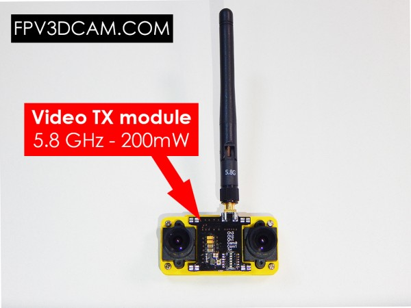 3d Fpv Camera The Blackbird 2 Uav Uas Drone Fpv