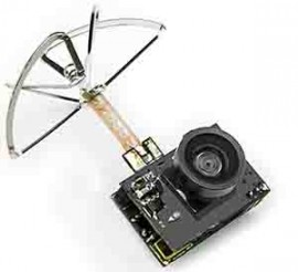 Micro FPV camera with 5.8GHz 25mW - 200mW transmitter
