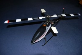 Dragonfly #60B with Aluminum flightcase 2,4Ghz