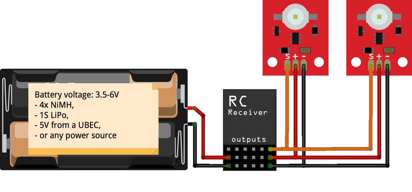vector flight controller wiring diagram controller battery
