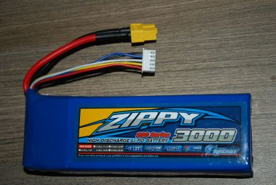 Zippy Flightmax 4s 3000mah 14 8v 20c Lipo Battery With Xt